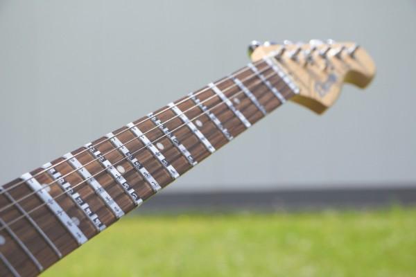 Gitarrenhals Aufkleber, Griffbrettaufkleber, E-A-D-G-B-E, 25 Stickers