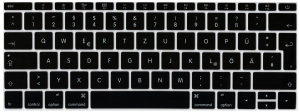 "Deutsche Silikon-Abdeckung für MacBook 12"", Magic Tastatur, EU-Enter"