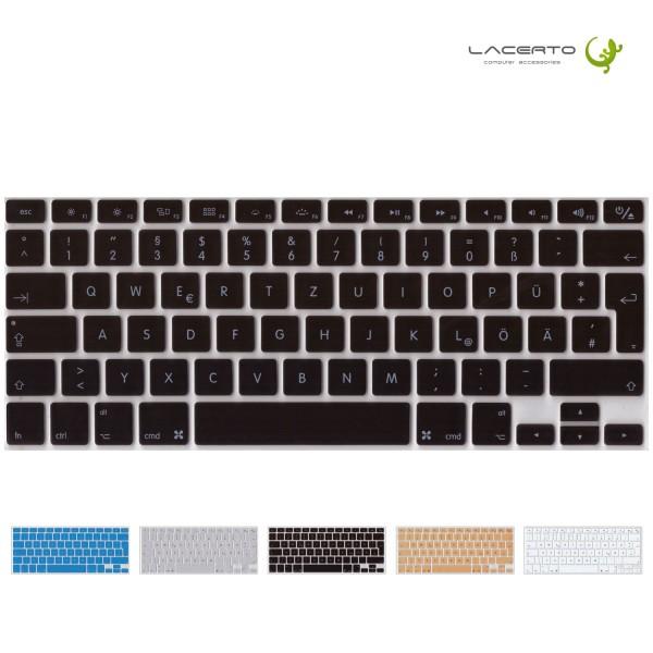 Deutsche Silikon-Abdeckung für MacBook, Air&Pro, Wireless Tastaturen, EU-Enter