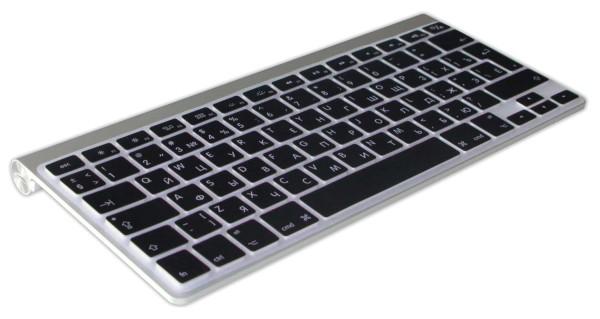 Russisch-Englische Silikon Abdeckung für MacBook, Air&Pro Tastatur